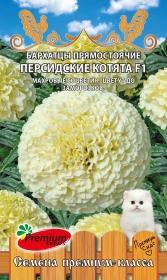 Бархатцы Персидские котята прямостоячие (Премиум)