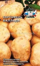 Картофель Баллада   (СеДек)